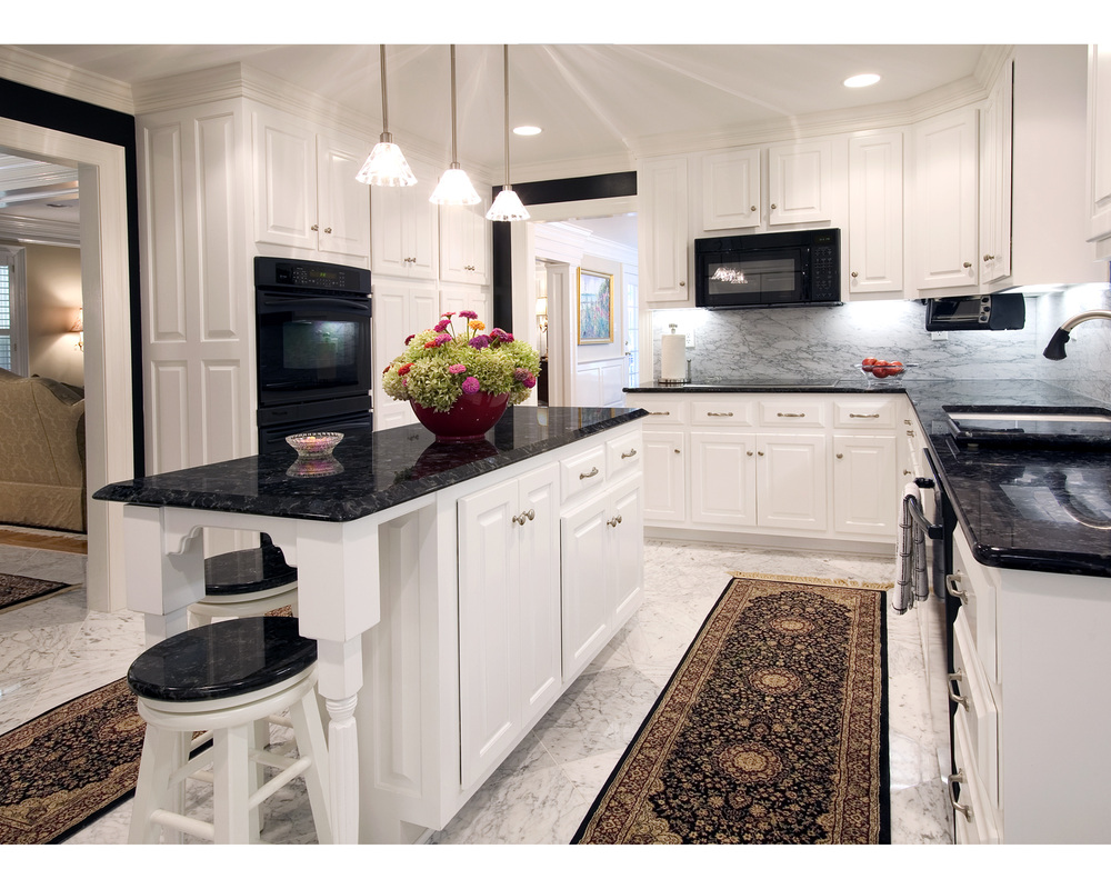 Dark Granite Kitchen Countertops Houston Home Renovations And Remodeling Nalley Custom Homes And